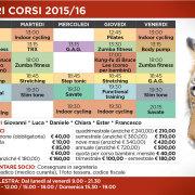 Palestra arenzano orari corsi 2015