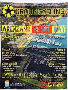 arenzano heart day group cycling 18 giugno 2016