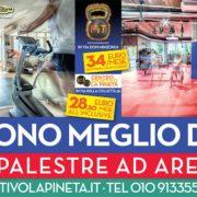 palestra arenzano 1fit centro sportivo la pineta offerta 2017 2018 promozione abbonamento